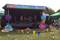 6m x 4m Stage for Hire