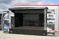 7m x 6m Stage for Hire