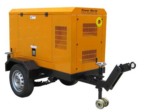 Trailer-Diesel-Generator
