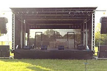 8m x 6m Stage for Hire