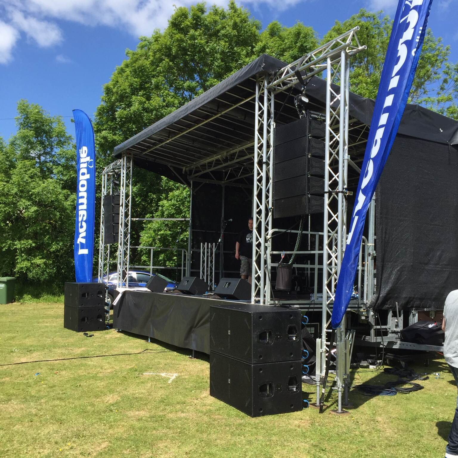 Stage Hire In The UK